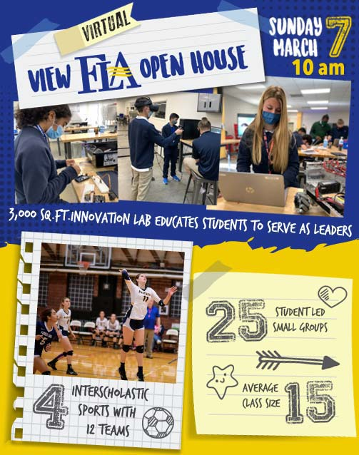 View FLA Virtual Open House is March 7, 2021