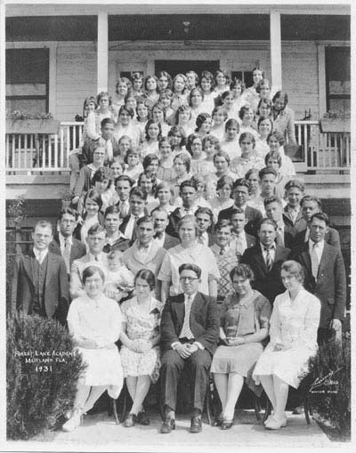 Forest Lake Academy Class of 1931