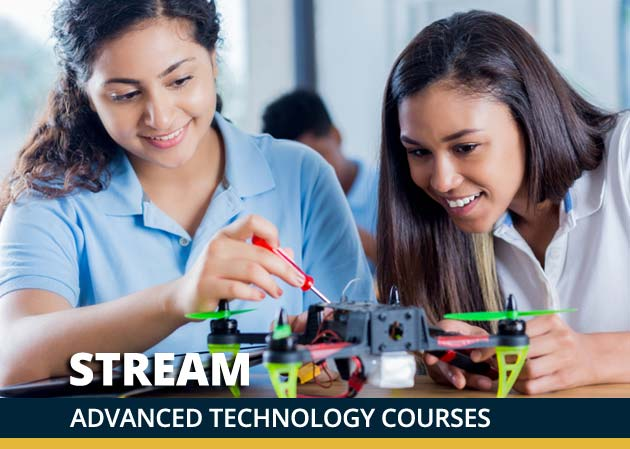 Our STREAM Program: Science, Technology, Robotics, Engineering, Arts and Math
